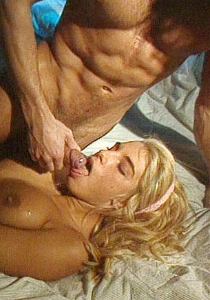 Pussy Haired Natacha Gets a Facial Cumshot