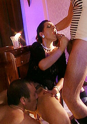 Andrea, DP Threesome with the Servant and her Husband