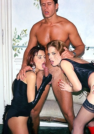 BDSM Orgy with Miralda and Godie Mc Hawn