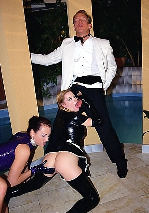 Angelica Sin and Goldie MC Hawn in an Anal and BDSM Threesome