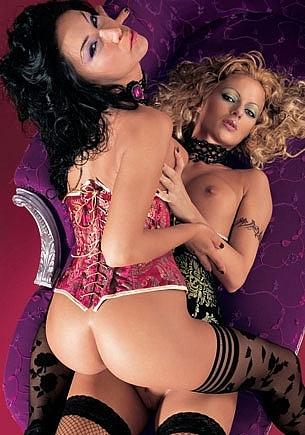Crystal & Mya Diamond. Liasons Dangereuses