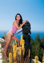 Vanessa May and Boroka in Ibiza - thumb 1