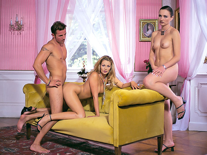Nikky Andersson and Natasha Get an Anal Threesome