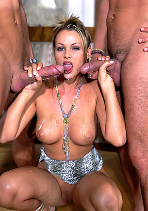Nikky Andersson Gets a DP Threesome