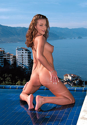 Judith Fox Rides Hard in the Swimming Pool