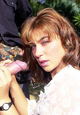 Krisztina Schwartz Gets a Threesome in the Forest