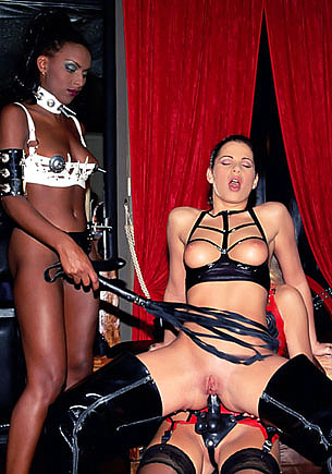 BDSM Orgy with Bettina, Demia Moor and Sandy