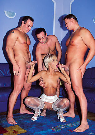 Brigitte, my First Gangbang