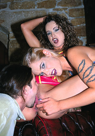 Cassandra Wild and Fernanda In an Anal BDSM Threesome