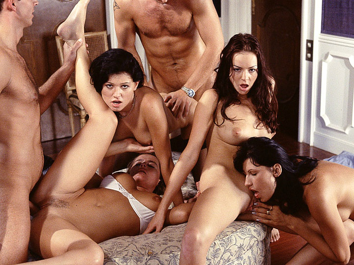 A Huge Orgy Starring Kate More Erupts at a Wedding Party