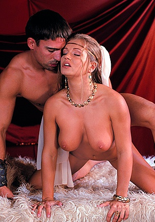 Big Boobed Blonde Rita Faltoyano Lets Her Lover Screw Her up the Ass