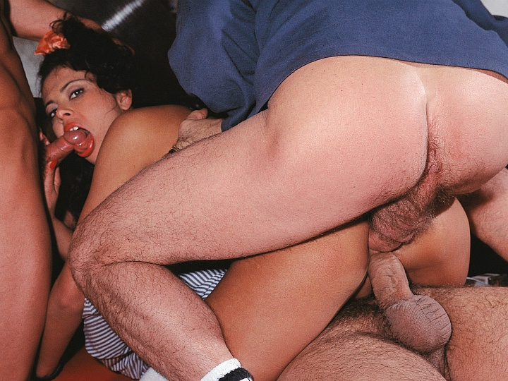 German Bukkake Sperma Gangbang