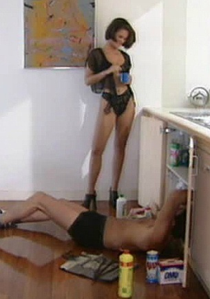 Vanda, DP with my Husband and the Plumber