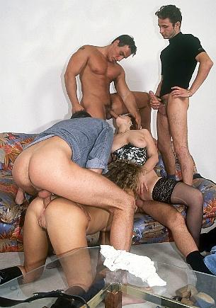 Orgy With Draguitsa & Melanie Rowan