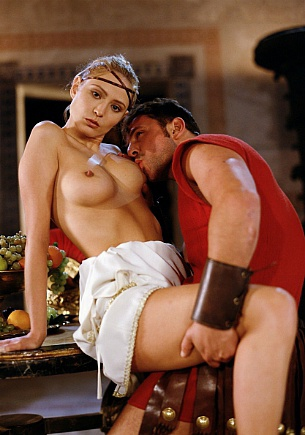 Tchanka & Vanessa Virgin Having Anal Sex in the Roman Bacchanal