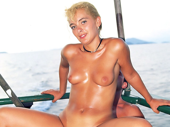Aniko Jacqueline, Perfect Babe Fucking Over the North Sea